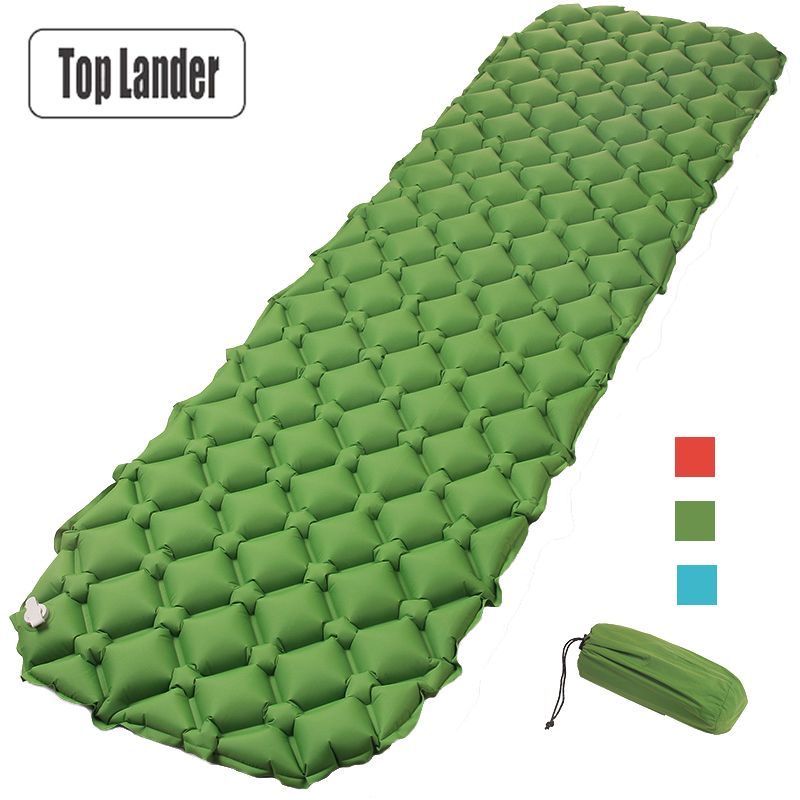 Air Mattress Inflatable Bed for <font><b>Tent</b></font> Portable Ultralight Sleeping Pad Air Bed Moistureproof Pad Waterproof Outdoor Camping Mat