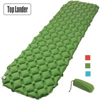 Luft Matratze Aufblasbare Bett für Zelt Tragbare Ultraleicht Schlaf Pad Air Bett Feuchtigkeits Pad Wasserdichte Outdoor-Camping Matte