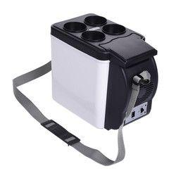 Mini 6L calienta calor refrigerador nevera 12 V auto congelador portátil multi-función anti-rotten mantenga fresco caliente