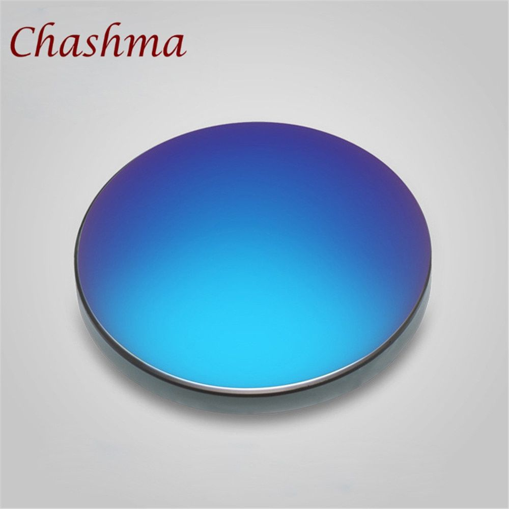 Chashma Brand 1.50 Polycarbonate UV 400 Protection Sun Lenses Prescription Mercury Sunglasses Myopia Lenses Coating Lens
