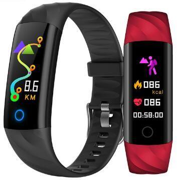 Montre de tension artérielle de fréquence cardiaque Bracelet intelligent S5 Bracelet intelligent Tracker de Fitness bande intelligente reloj Pk mi bande 4 PK honour band 5