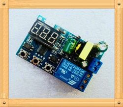 Free Shipping!!! 5pcs One relay module / adjustable trigger delay loop timed pull off the switch circuit is turned on 220V
