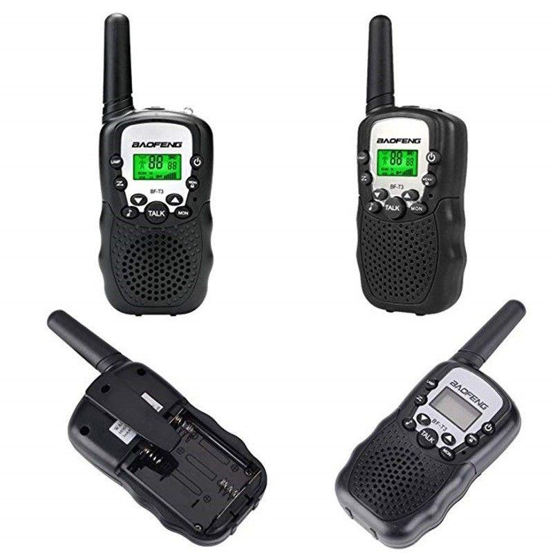 2PCS Children Mini Kids UHF BaoFeng Walkie Talkie BF-T3 FRS Two Way Radio Comunicador T3 Handy Talkie Hf Transceiver Wholesale