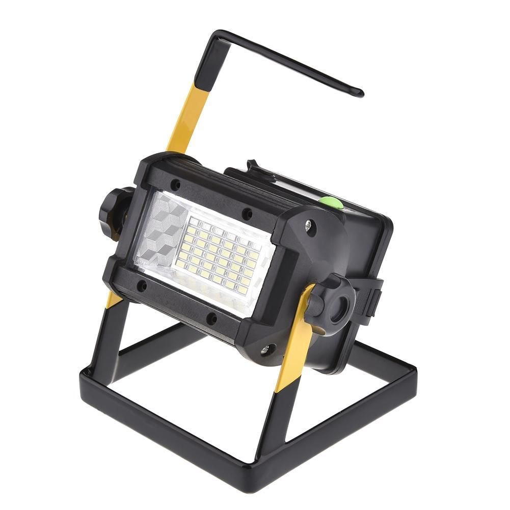36LED Outdoor Spotlights 3 Modes Camping Light Flood Light Construction Site Working Portable Water Resistant Lamp Searchlight