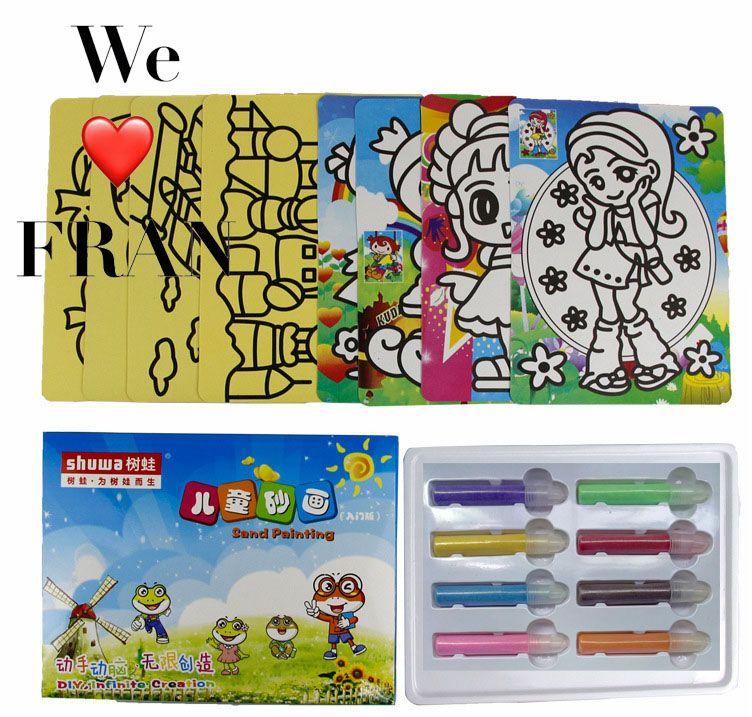 Active Classique jeu Sable peinture jouet pour enfant