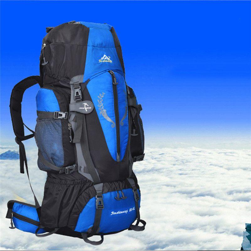 Multi-purpose Large Backpack 80+5L Waterproof Bag Multi-purpose Backpacks for Outdoor Hiking Camping Climbing Skiing Travel Bags