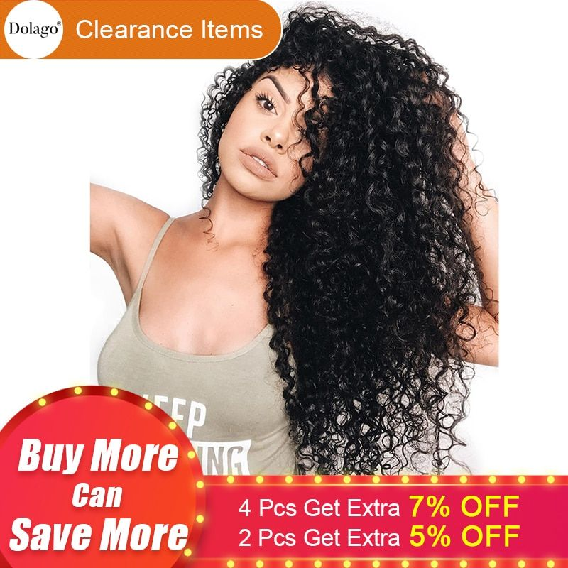 360 Lace Frontal Wig Pre Plucked With Baby Hair 180% Deep Wave Full End Brazilian Lace Front <font><b>Human</b></font> Hair Wigs Curly Dolago Remy