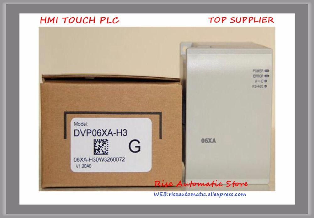 DVP DVP04AD-H3 DVP04DA-H3 DVP06XA-H3 DVP08TC-H2 Programmierbare Controller PLC Neue
