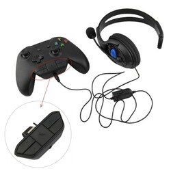 Onleny Stereo Headset Adapter Headset Audio Adapter Headphone Converter For Microsoft Xbox One Wireless Game Controller