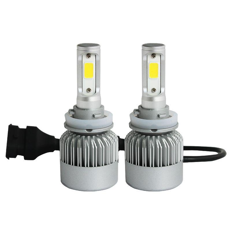 72W 8000lm H11 H4 H7 LED cob Car Automotives Headlight kit H7 HB3 HB4 H1 <font><b>9005</b></font> 9006 bulb led lamp DRL with Fan Play & Plug