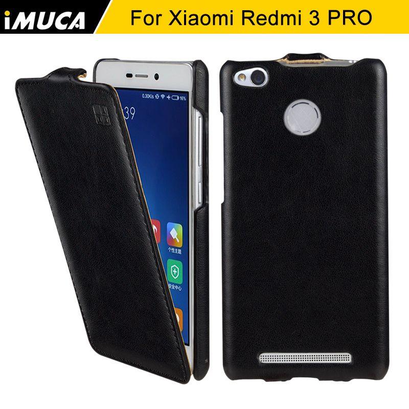 Téléphone cas pour xiaomi redmi 3 s couverture pour xiaomi redmi 3 pro hongmi 3 pro redmi 3 s cas de luxe flip housse en cuir shell