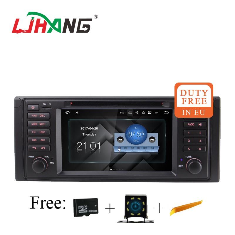 LJHANG Android 7.1 Auto dvd auto-radio-Player für BMW E39 X5 M5 E38 E53 auto Multimedia GPS Navigation Radio WIFI spiegel link RDS