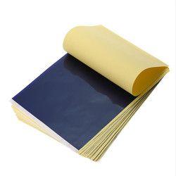 25 unids/lote 4 capa carbono stencil papel de transferencia termal del tatuaje papel de copia papel de calco profesional del tatuaje accesorios de la fuente