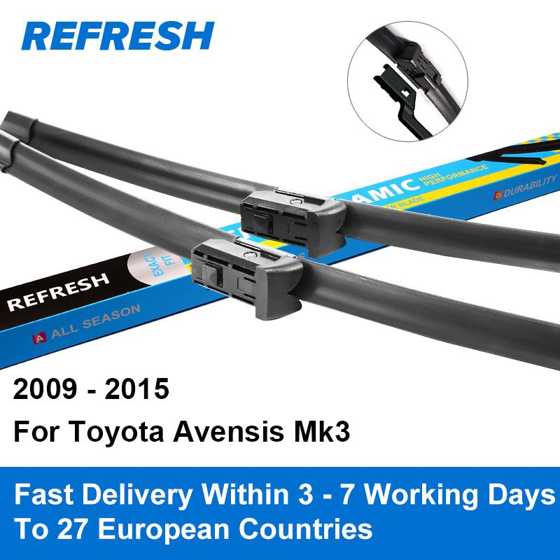 Refresh Wiper Blades for Toyota Avensis Mk3 26
