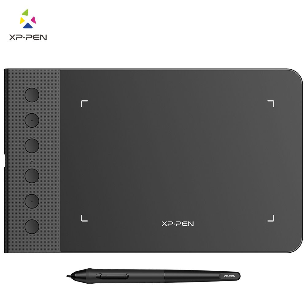 XP-Pen G640S 6 x 4 Inch Graphic Drawing Tablet Pen Tablet for OSU with Battery-Free Stylus-8192 levels and 6 shortuct keys