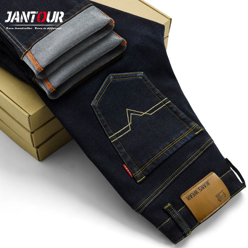 2018 New Men Activities Jeans male High Quality Famous Brand Spring summer Jeans fashion Long pants soft men Feet jeans hot sell