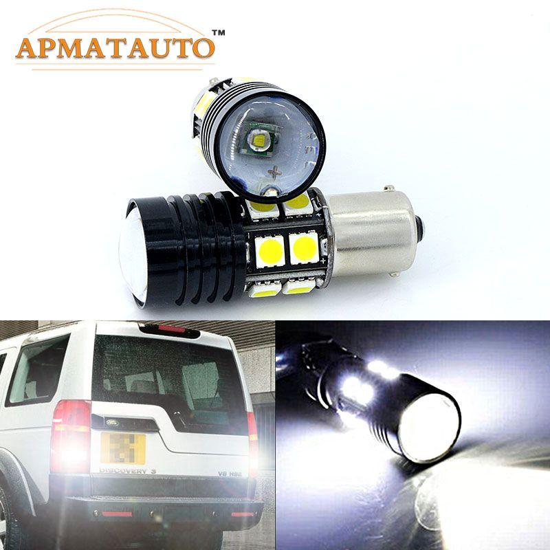 2x1156 P21W haute puissance Q5 puces LED arrière inversion ampoule de queue pour Land Rover Discovery 3 Range Rover Freelander