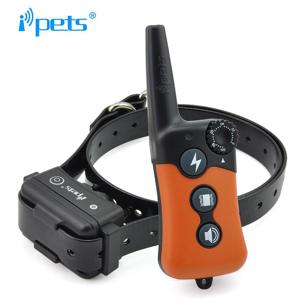 IPETS pet619-1 Электрический Кинологический воротник большой собаки Ошейники для дрессировки собак 300 м дистанционное обучение воротник кора оше...