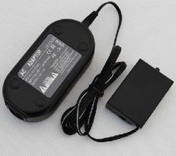 ACK-E8 AC Power Adapter For CANON EOS 550D 600D 650D Rebel T2i T3i T4i Kiss X4 X5 X6i free shipping