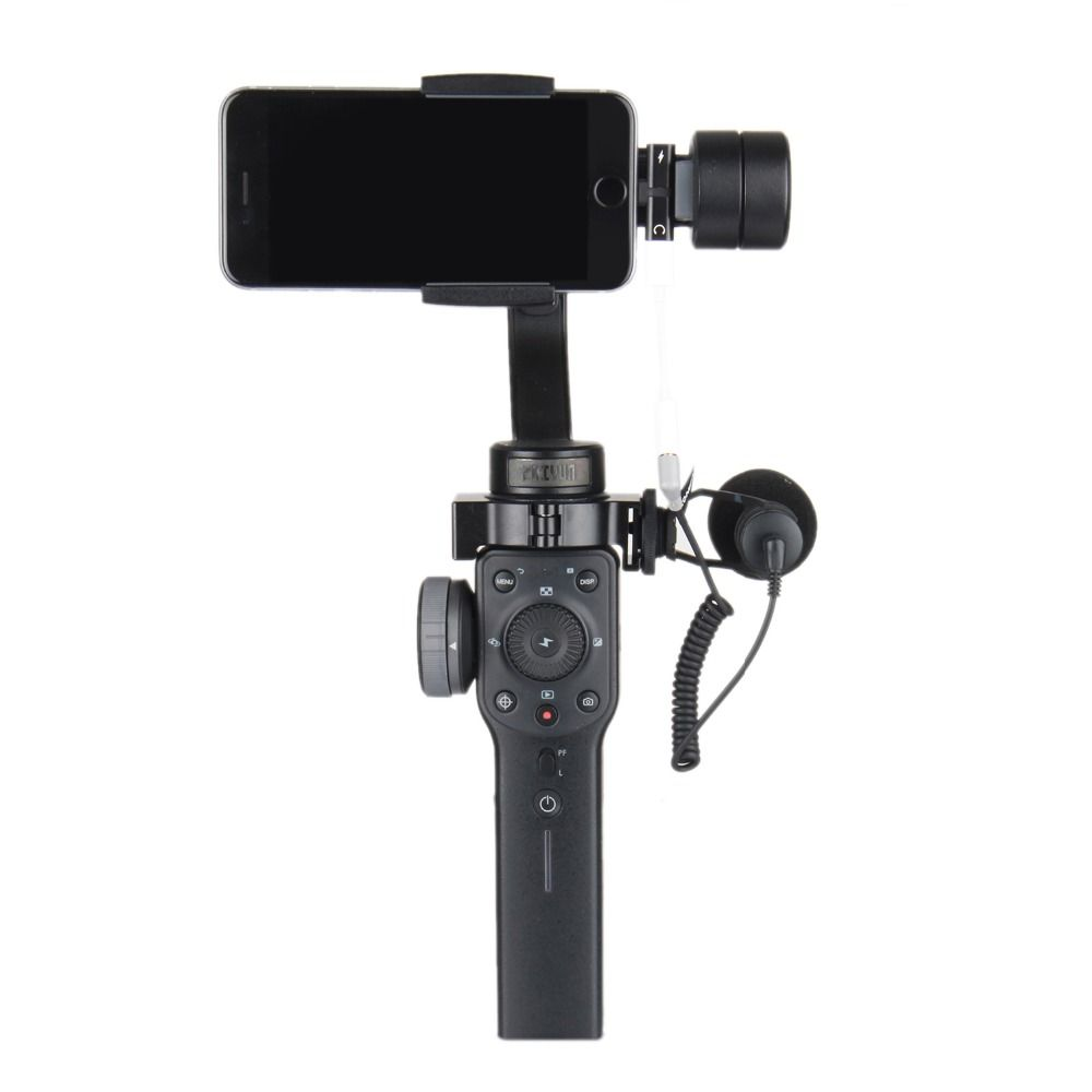 Zhiyun Smooth4 smooth 4 3-Axis Handheld Gimbal Stabilizer for Smartphone action camera iPhone X 8 Gopro Hero 5 sjcam YI mic kit