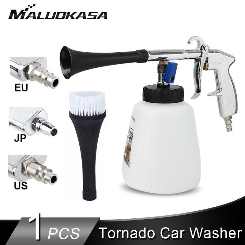 Drop Ship Tornado Car Washer Automobiles Dry Clean Car High Pressure Cleaning Tool Washing Gun Auto Deep Cleaning Tornado Gun