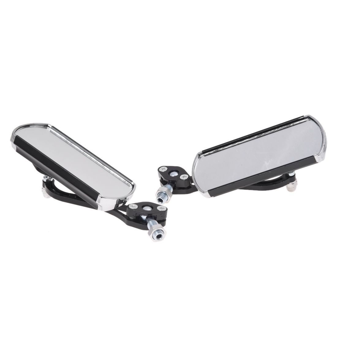 2x Motorcycle Motorbike Rear View Side Racing Mirrors for Honda
