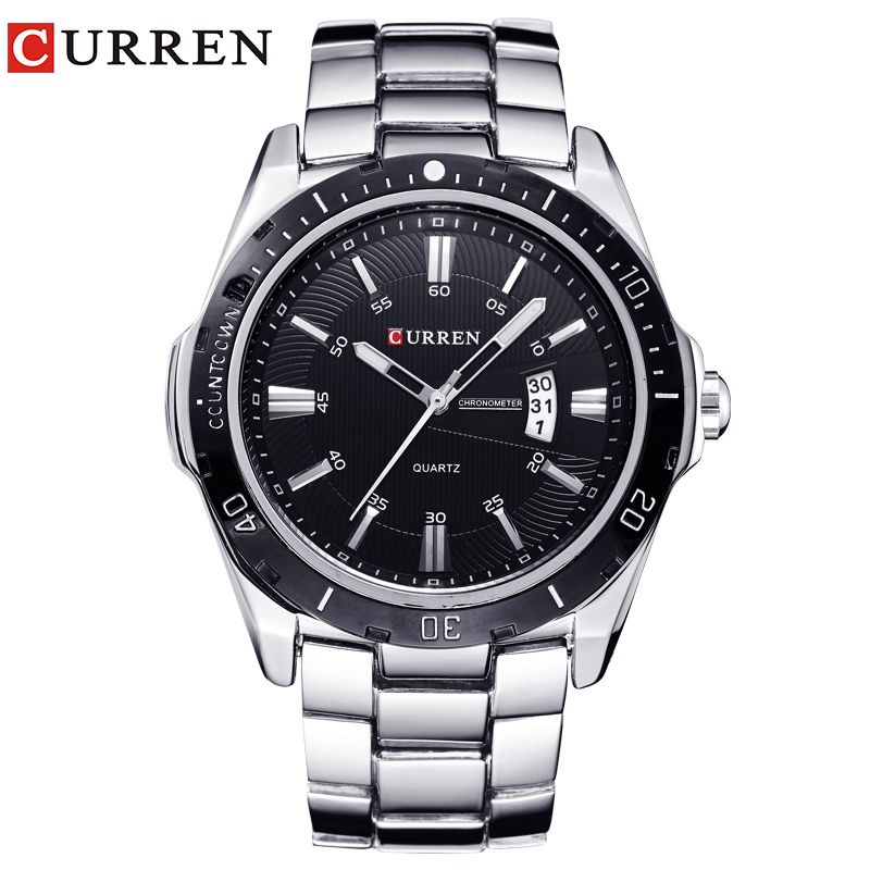 NEW curren watches men Top Brand fashion watch quartz watch male relogio masculino men Army sports <font><b>Analog</b></font> Casual 8110