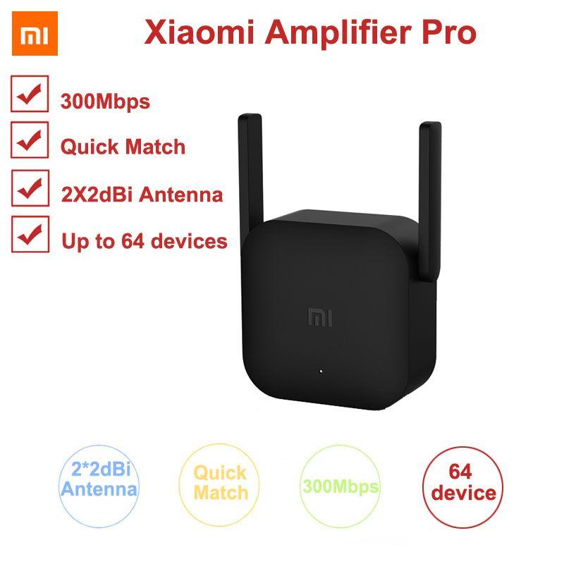Xiao mi 300M amplificateur Pro WiFi répéteur réseau extenseur de puissance Roteador 2 antenne pour mi routeur Wi-Fi Amplificador APP