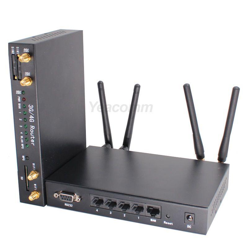 Kostengünstige high speed CAT4 R340 Serie Dual sim LTE bus WI-FI 4G router für Fahrzeug