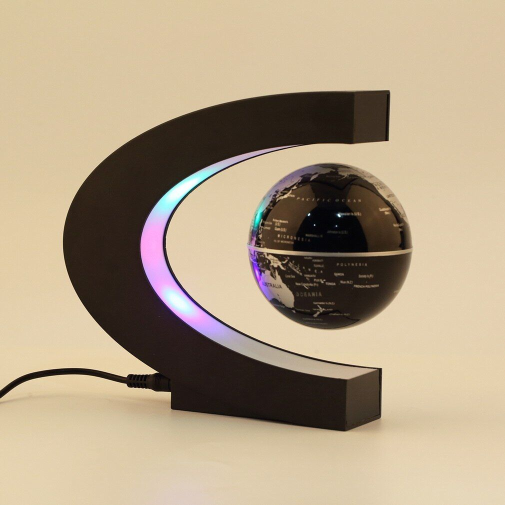 Decor Home Electronic Magnetic Levitation Floating Globe Antigravity magic/novel light BXmas Decoration Santa irthday <font><b>Gift</b></font>