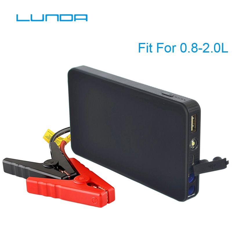 LUNDA K21 Mini Portable 12V Car Battery Jump Starter Auto Jumper Engine Power Bank Starting Up To 2.0L Car Start power bank