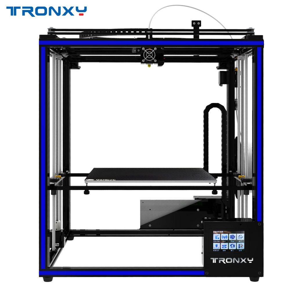 2019 heißer verkauf Tronxy DIY 3D drucker X5ST-400 Kits Größere 3D Druck Größe PLA 1,75mm Filame