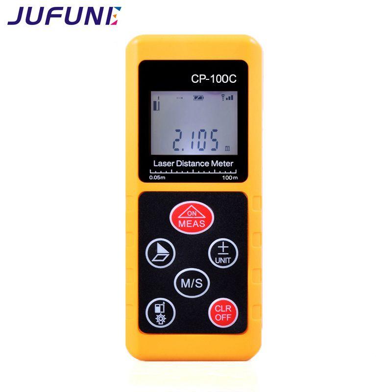 Jufune CP-100C 100 m De Poche Laser Distance Meter Plage Finder Numérique Bande