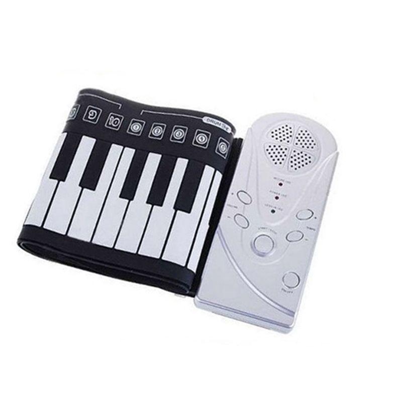 Roll-Up Мягкие Электронные USB Пианино Органы Клавиатура Новый 49 клавиш