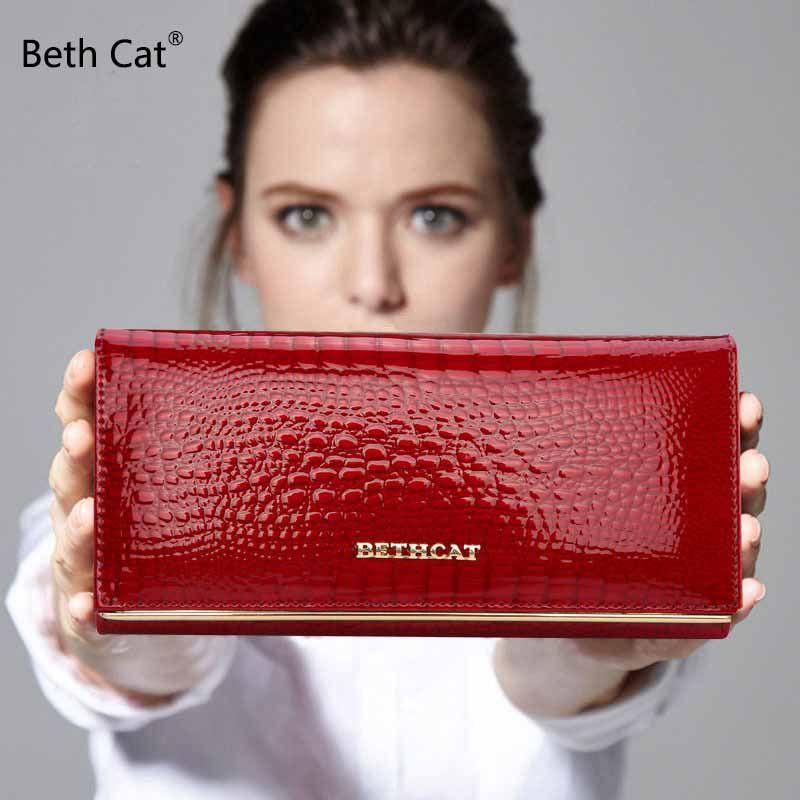 кошелек женский дизайн бренда высокое качество кошельки женские бумажник засов мода долларовых цен аллигатор долго женщины кошельки и кош...
