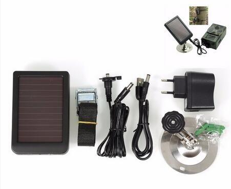 Suntek Hunting Trail Cameras Solar Panel HC300M HC350M HC500M HC550M HC700G Series Wild Cameras Solar Charger Battery