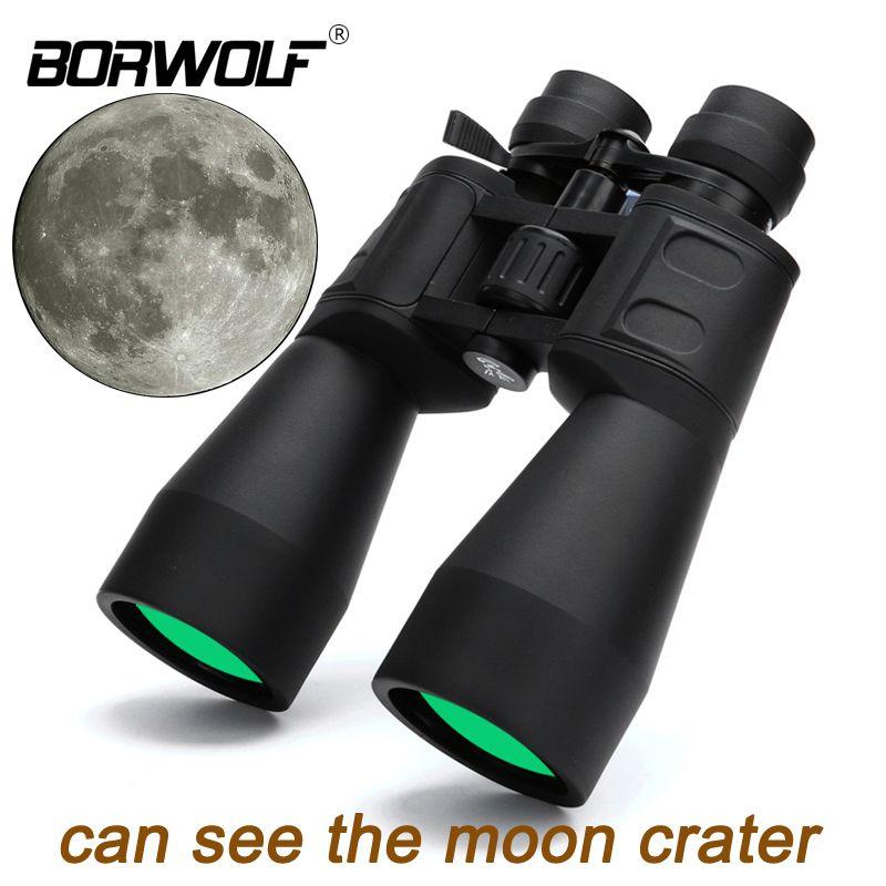 Borwolf 10-380X100 High magnification long range <font><b>zoom</b></font> 10-60 times hunting telescope Binoculars HD Professiona <font><b>Zoom</b></font>