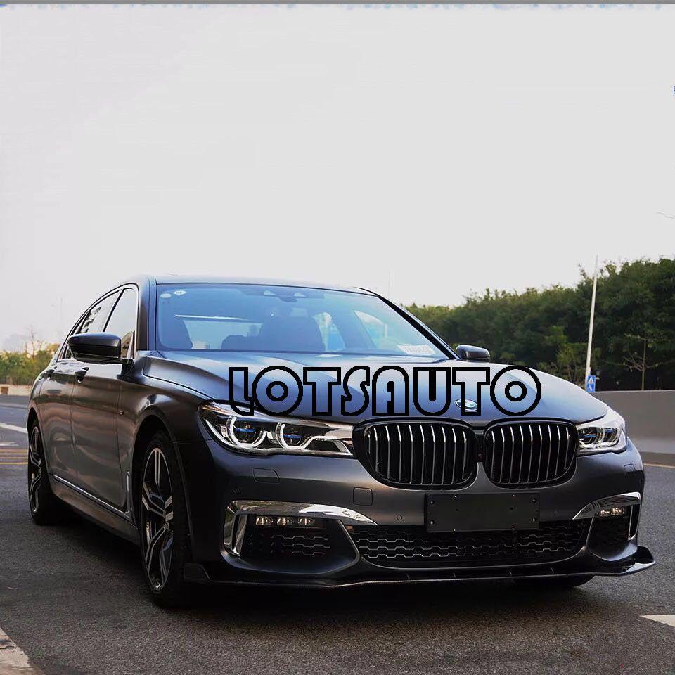 New Fashion 16-18 G11 G12 725d 730d 740e 740i 740li 750d 750i 750li M760li OEM Carbon Fiber Front Lip FOR BMW M760 front bumper