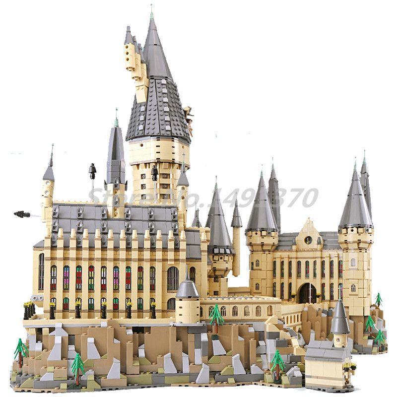 The Harry Movie Series Potter Building Blocks Hogwarts Castle Sets Bricks 71043 Model Toys For Children Gifts Lepin 16060