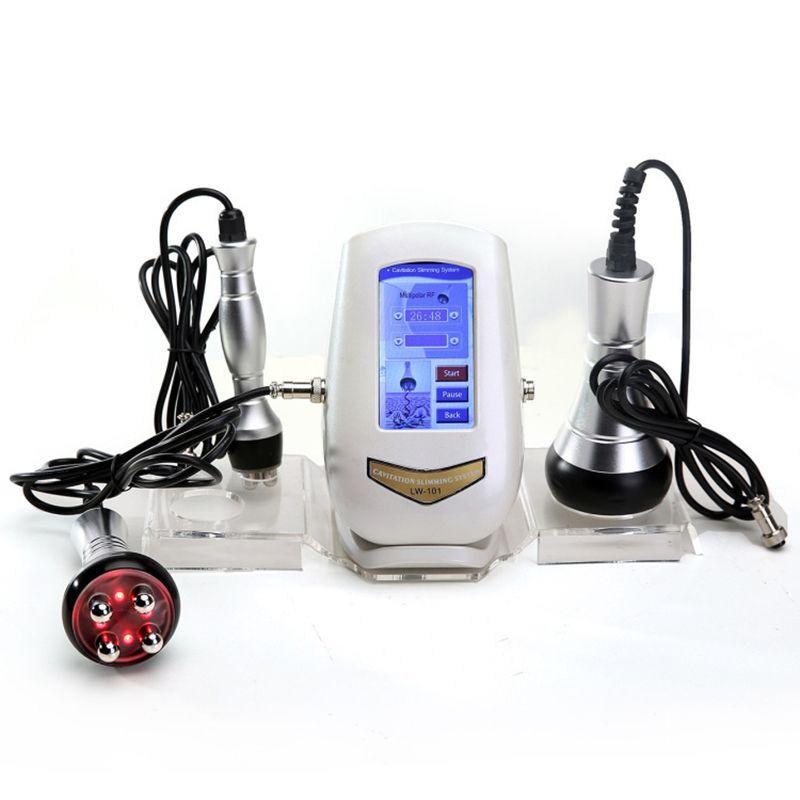 40K Kavitation Ultraschall Gewicht Verlust Haut Verjüngung Schönheit Maschine Multipolaren RF Körper Abnehmen Haut Straffen Anti-falten