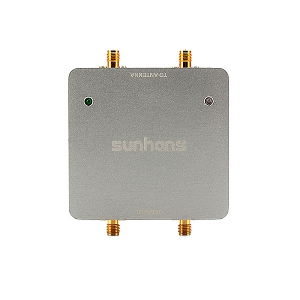 Amplificateur de Signal WiFi double antenne SUNHANS SH24Gi1000-D2 1000 mW 30dBm 2.4 GHz 2T2R/300 Mbps IEEE 802.11b/g/n amplificateur de Signal WiFi