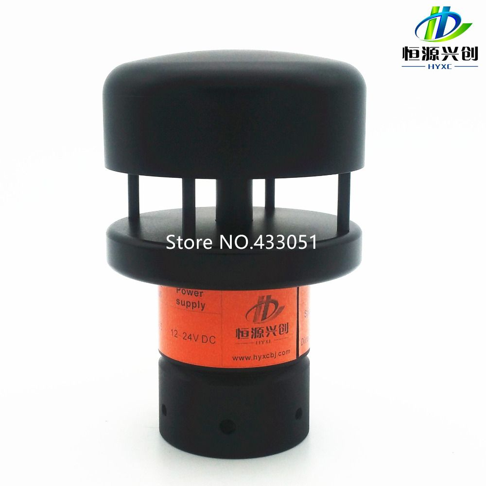 Ultrasonic wind speed and direction finder, wind speed and direction sensor, Output RS485 or RS232, Power supply 5 ~ 12V DC