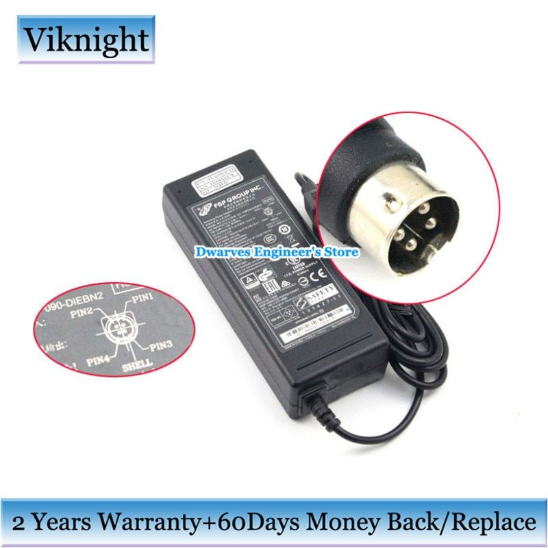 Genuine 19V 4.74A FSP AC Adapter Charger For GETAC V200 9NA0904713 FSP090-DIEBN2 FSP090-D1EBN2 H00000378 90W Laptop Power Supply