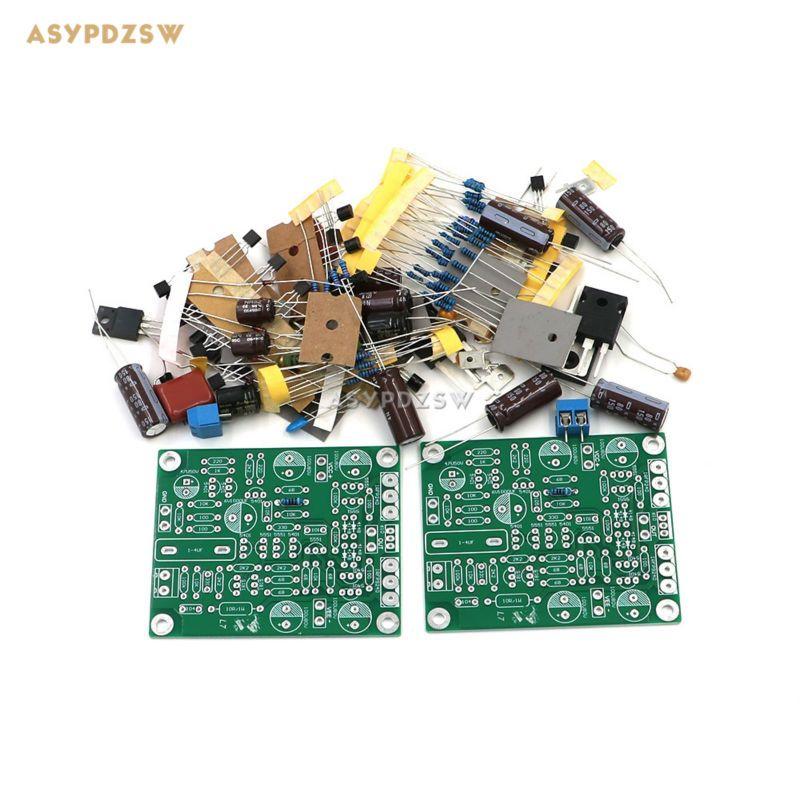 2 stücke l7 mos fet klasse ab audio-leistungsverstärker diy kit irfp240 irfp9240 (2 kanal)