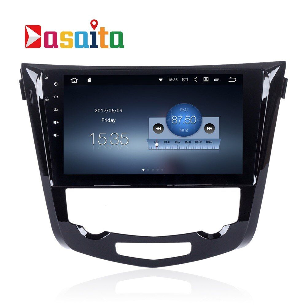 qashqai Radio X-Trail 2014 2015 headunit for Qashqai Android Audio GPS stereo headunit Radio WIFI browser map 1.6GHz TDA7850 RDS