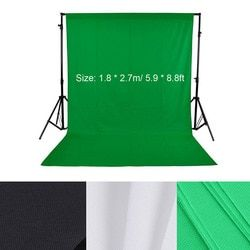 1.8*2.7m/5.9*8.8ft Photo Background Photography Backdrops Backgrounds for Photo Studio Green Screen Photography Background