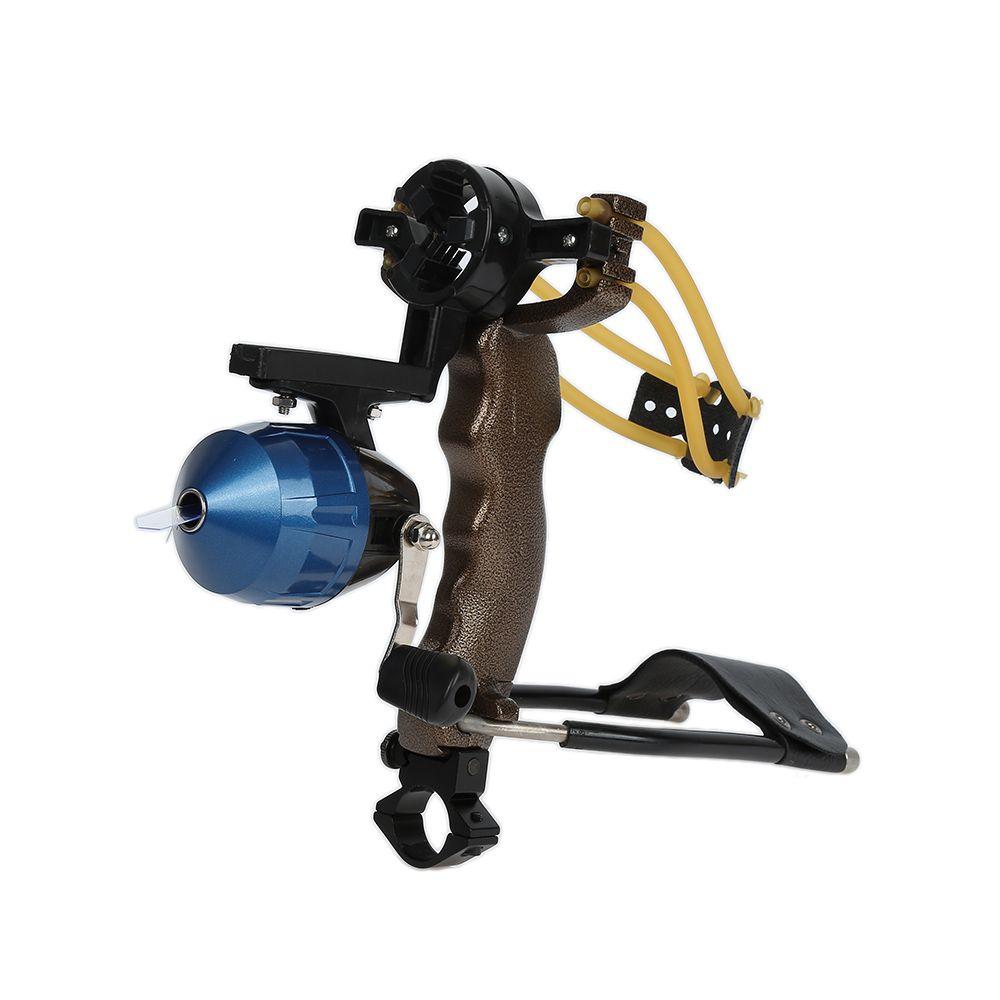 High Quality High Velocity Elastic Hunting Fishing Slingshot Shooting Catapult Bow Arrow Rest Bow Sling Shot Crossbow Bolt