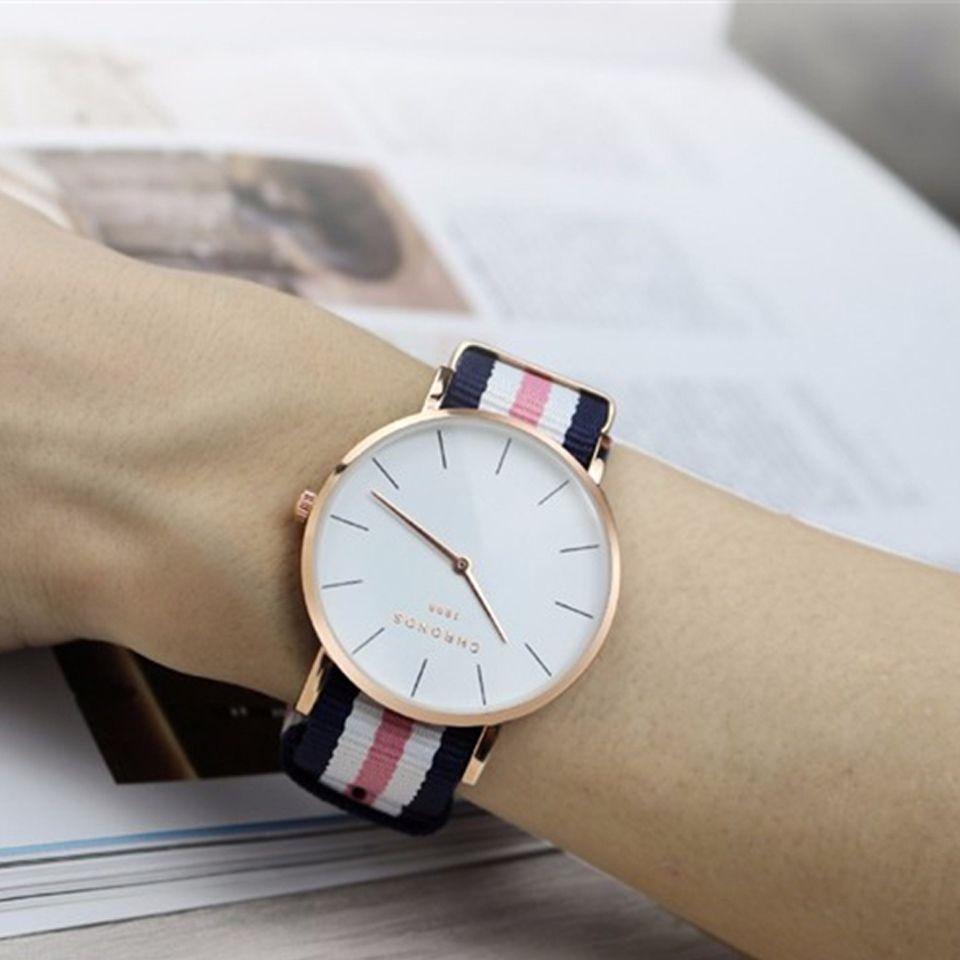 Marca Cronos Hombres Reloj Deportivo Casual Mujeres se Visten de Moda Relojes Hombre de Negocios de Cuarzo Reloj de Las Señoras Relogio masculino Militar