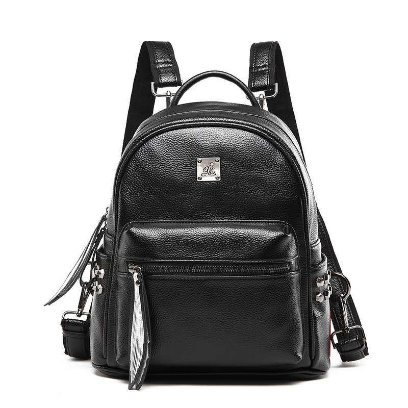 Fashion Women Backpacks Genuine Leather Backpacks Ladies Travel Bags Women Shoulder Bags Ladies Joker Bookbag Travel Bag