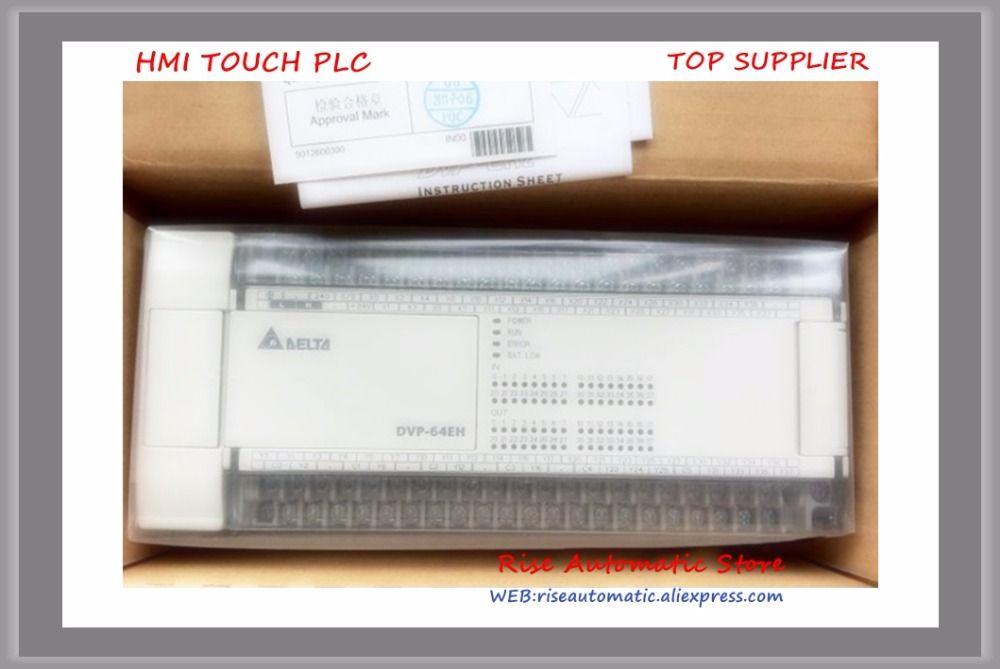 New Original PLC DVP64EH00R2 64-point 32DI/32DO relay output AC power